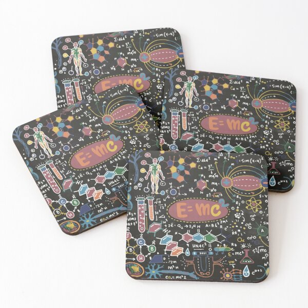 Science Forever! Coasters (Set of 4)