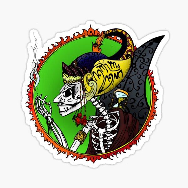 Wayang of Death Sticker