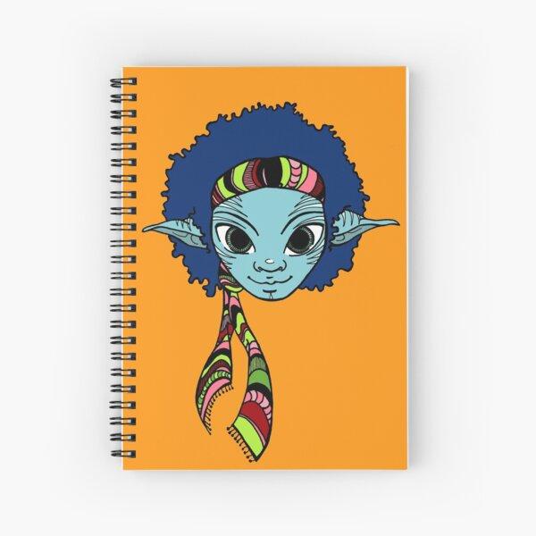Jimi Elf Spiral Notebook