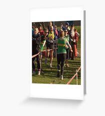 Herewood relay Greeting Card