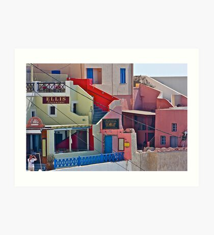 Fabulous like a dream  -  SANTORINI . Greece. by Brown Sugar. Views (101) favorited by (8) Yeah so good !!! thanks ! Muito obrigado ! Muchas gracias ! Je suis enchante ! Art Print