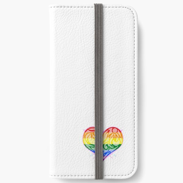 I love you in all the colours iPhone Wallet