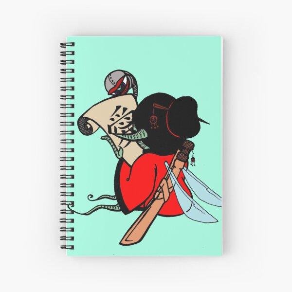 Yakuza Elf Spiral Notebook