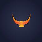 Minimalist Phoenix by keenanzucker