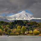 Pucon and Volcano Villarica by Peter Hammer