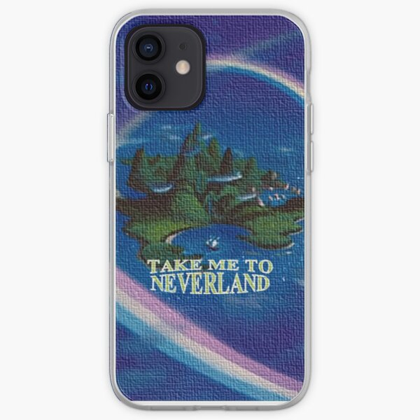 Take Me to Neverland iPhone Soft Case
