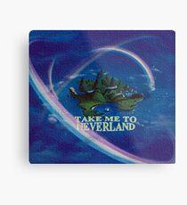 Take Me to Neverland Metal Print