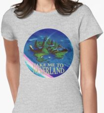 Take Me to Neverland Women's Fitted T-Shirt