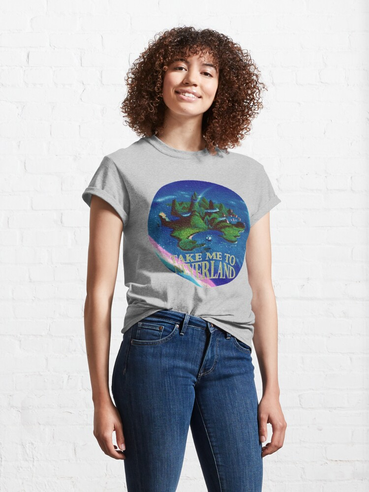 Alternate view of Take Me to Neverland Classic T-Shirt