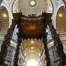 Papal Basilica of Saint Peter in the Vatican by shadowphoto