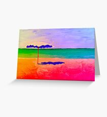 Beachalicous Greeting Card