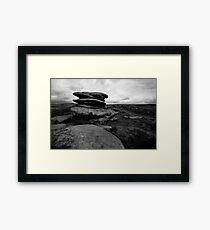 Rocks, Over Owler Framed Print