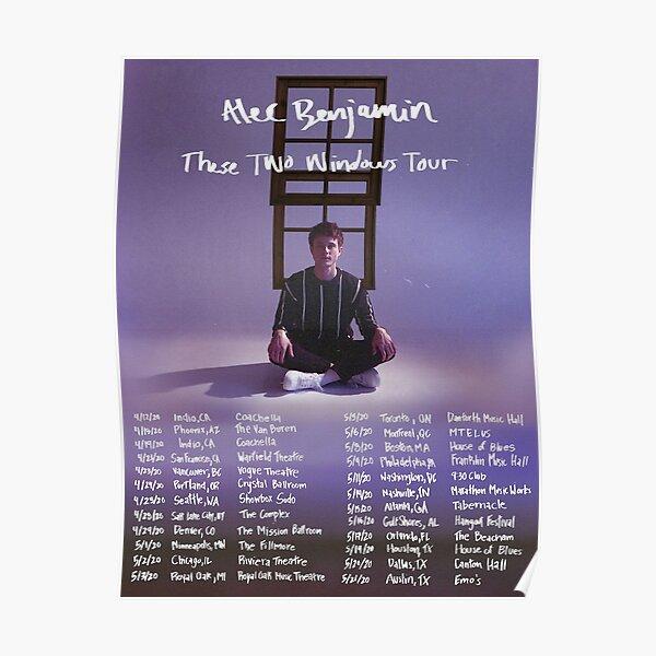 alec benjamin tour mantaff Poster