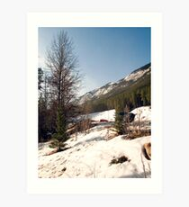 A little bit of Banff series #2 Art Print