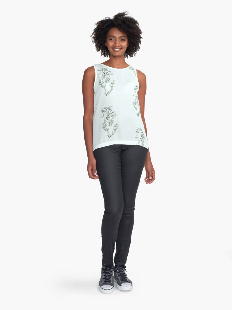 Alternate view of Spring shoots Sleeveless Top