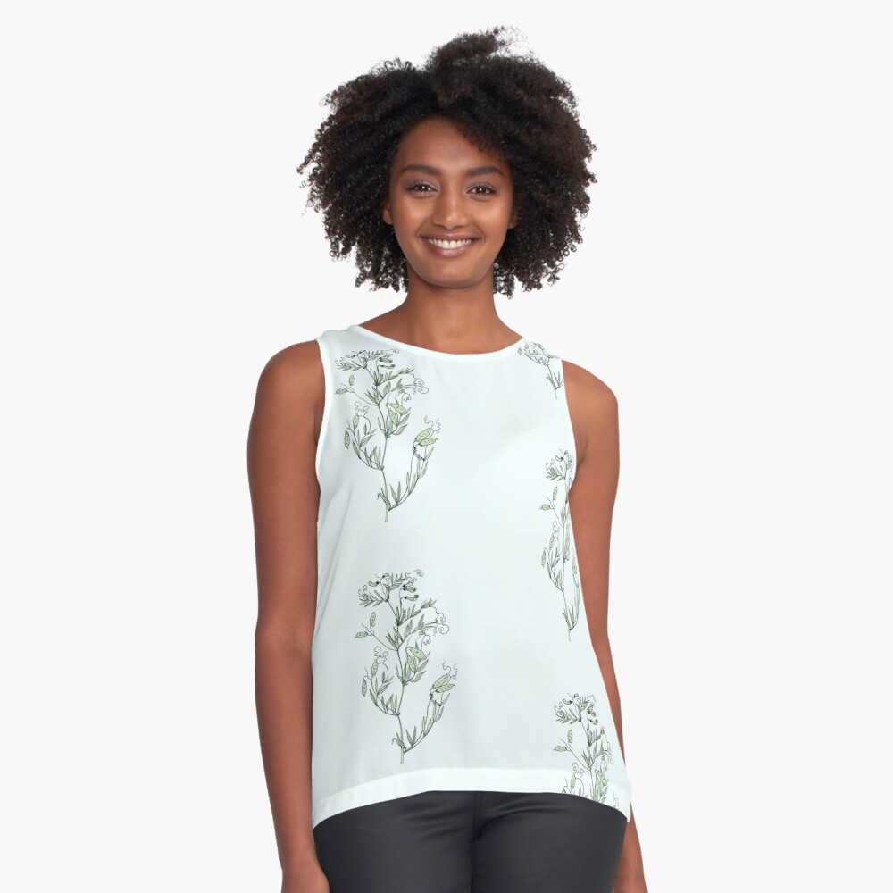 Spring shoots Sleeveless Top