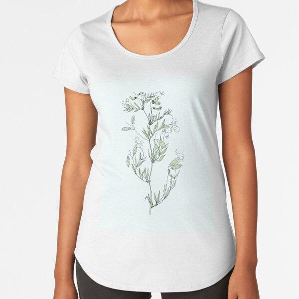 Spring shoots Premium Scoop T-Shirt