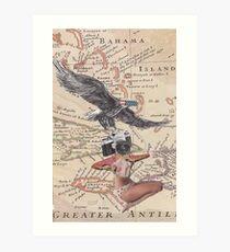 'Take a Picture America' Art Print