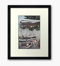 'Low Flier' Framed Print