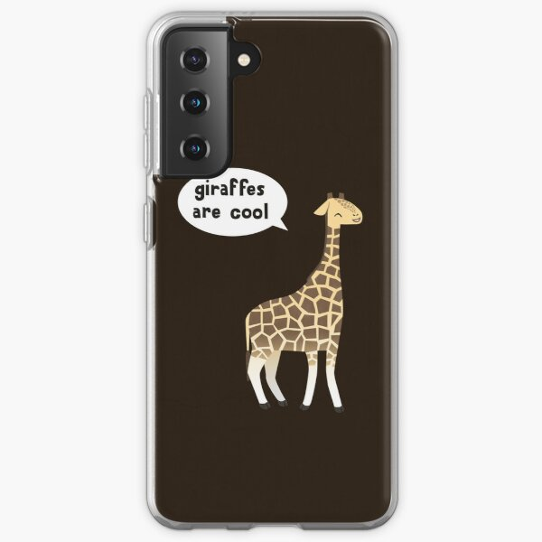 Giraffes are cool Samsung Galaxy Soft Case