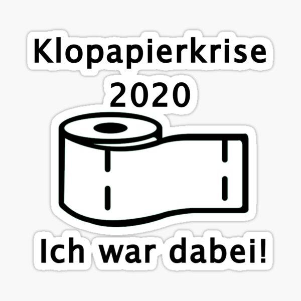 Klopapierkrise 2020 Sticker