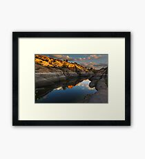 Dry Boots Framed Print