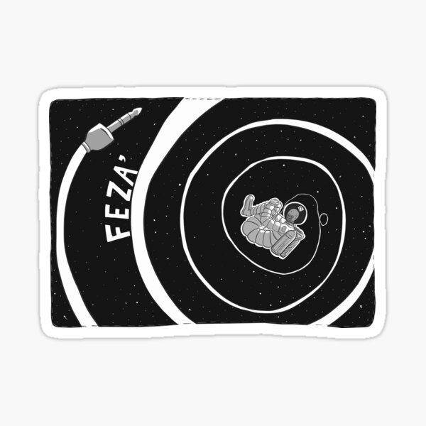 """""""Feza"""", Space, Turkish Horror Stories Sticker"""