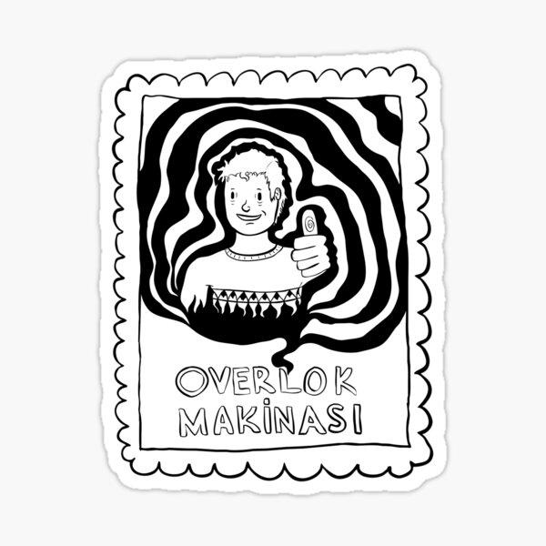 """Overlok Makinası"", Turkish Horror Stories Sticker"