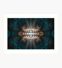 Curlscope - Ornate Art Print