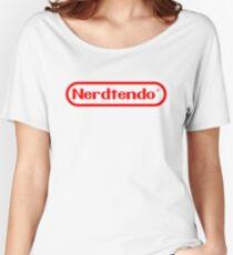 Nerdtendo Women's Relaxed Fit T-Shirt