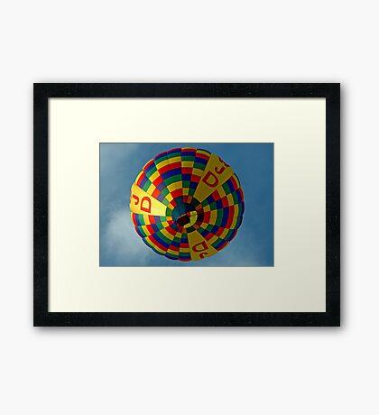 Color In The Sky Framed Print