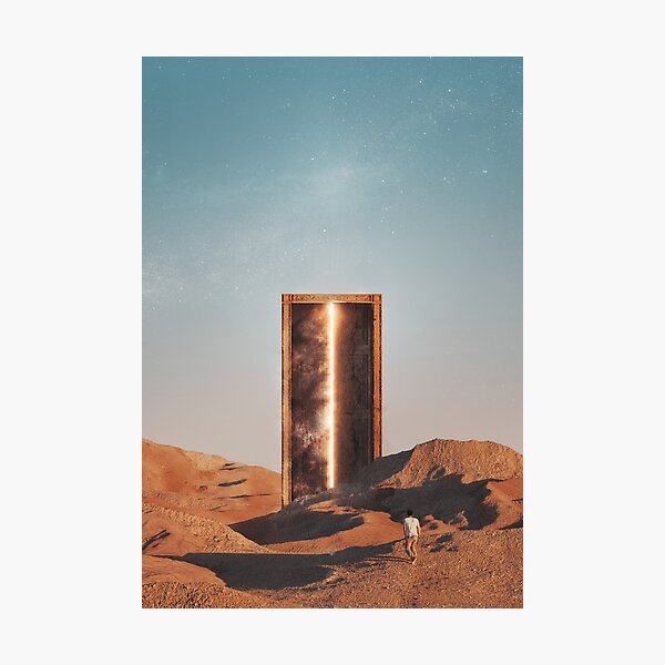 Gate of Anubis Photographic Print