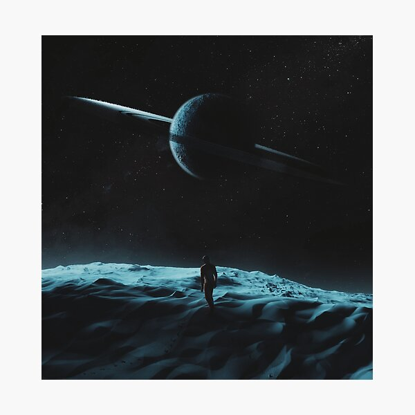 Deserter, A Space Scene form Solari Project Photographic Print
