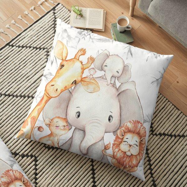 Africa safari animals kids pillow nursery decoration Floor Pillow