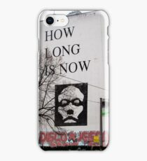 Berlin-How Long is Now iPhone Case/Skin