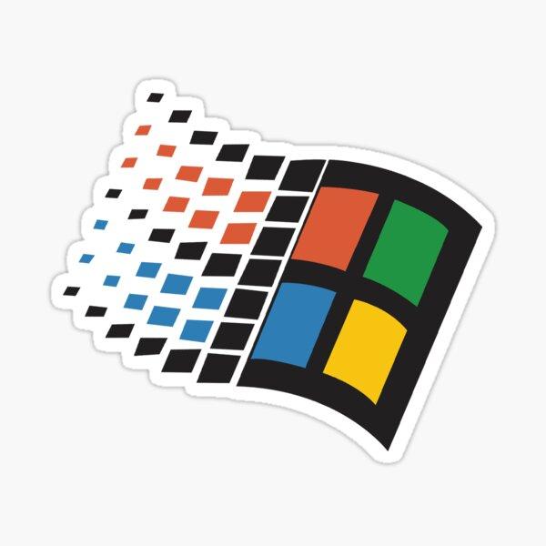 Windows 95 Logo Sticker