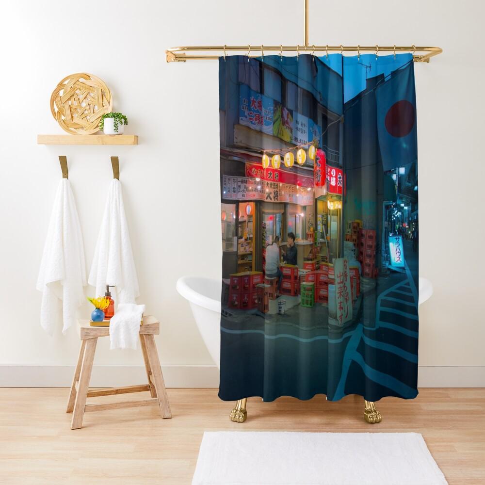 Small street izakaya in Koenji Shower Curtain