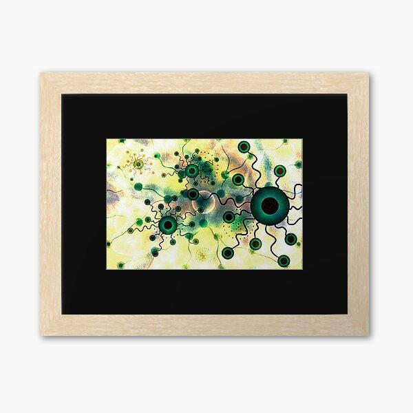 Dendrimers - Nanomicelles - Nanoworld Framed Art Print