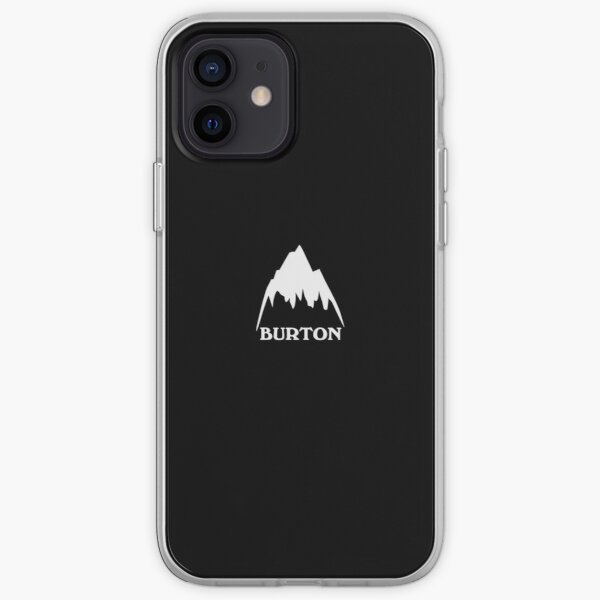 Burton snowboards iPhone Soft Case