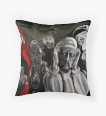 SCROOGE'S SAESON GREATINGS ! Throw Pillow