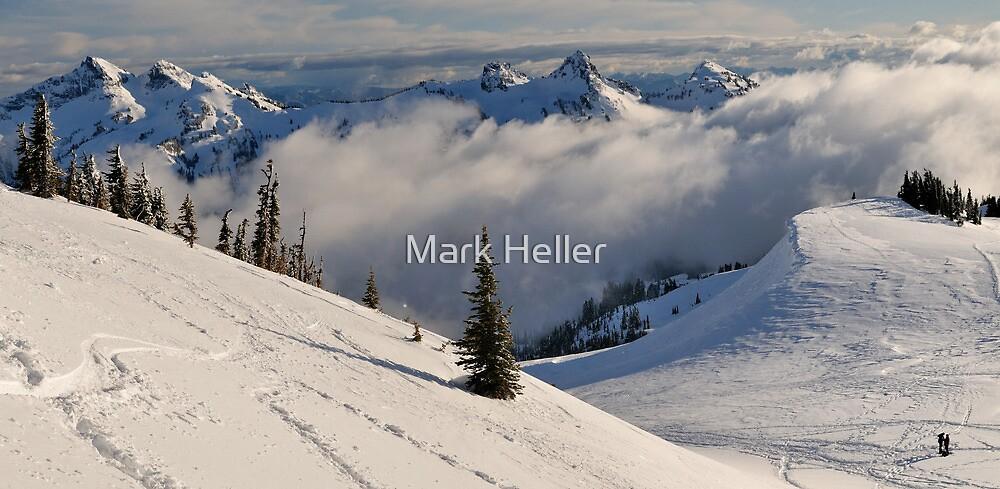 Snowshoe Paradise - Mt. Rainier N.P. by Mark Heller