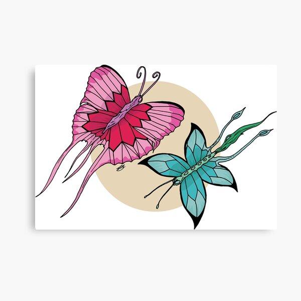 Fantasy Butterflies Canvas Print