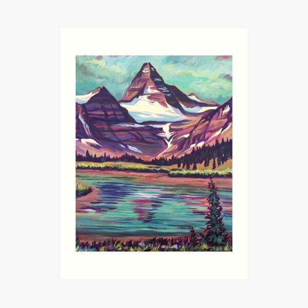Assiniboine Reflections Art Print