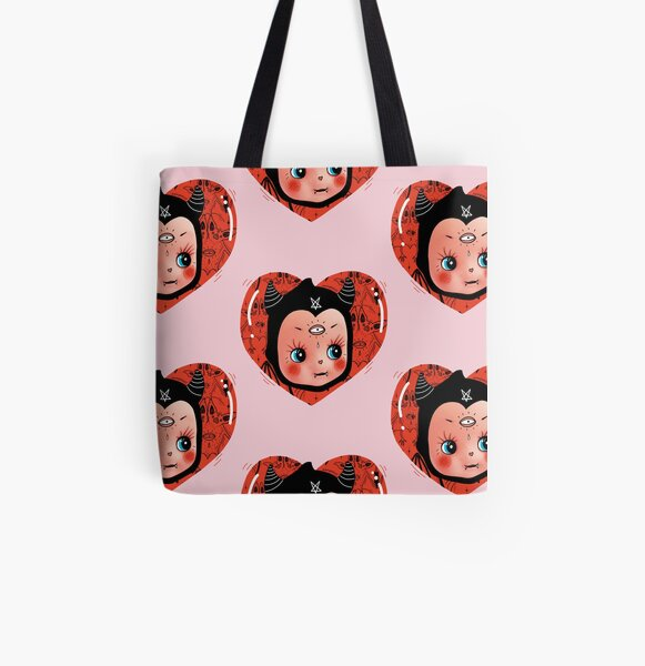 vampi kewpie doll - old school collector All Over Print Tote Bag
