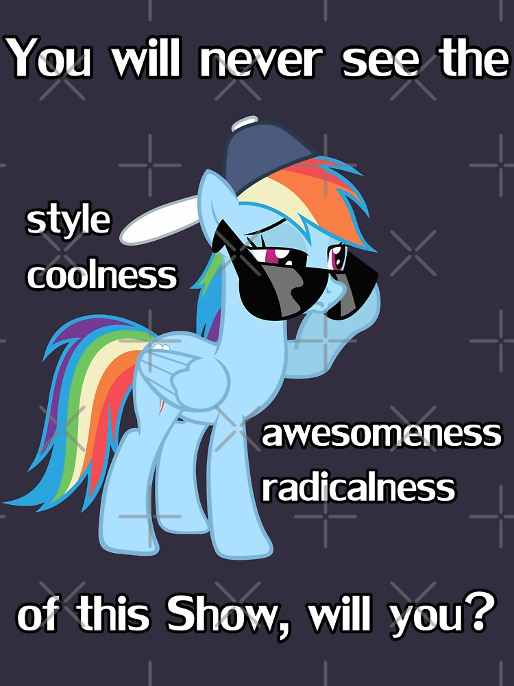 Rainbow Dash Style | Unisex T-Shirt