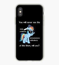 Rainbow Dash Style iPhone Case