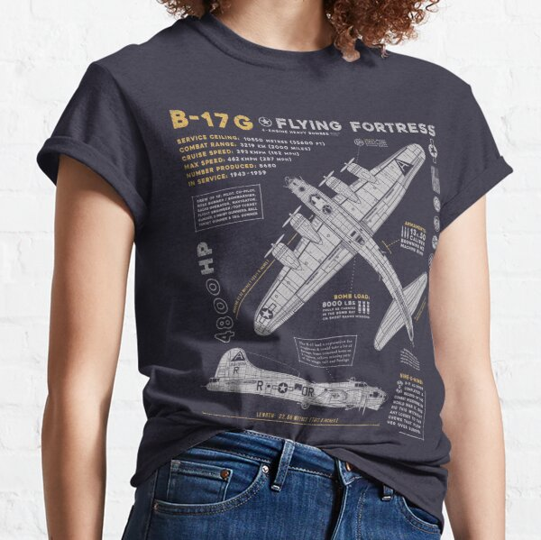 B-17 Flying Fortress Classic T-Shirt