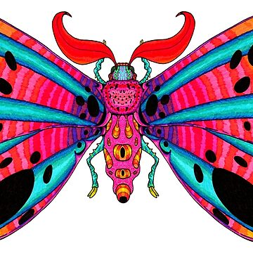 Bephalee Warnhoff Moth by T-Raccoon
