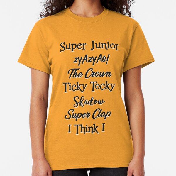 Super Junior Songs Classic T-Shirt