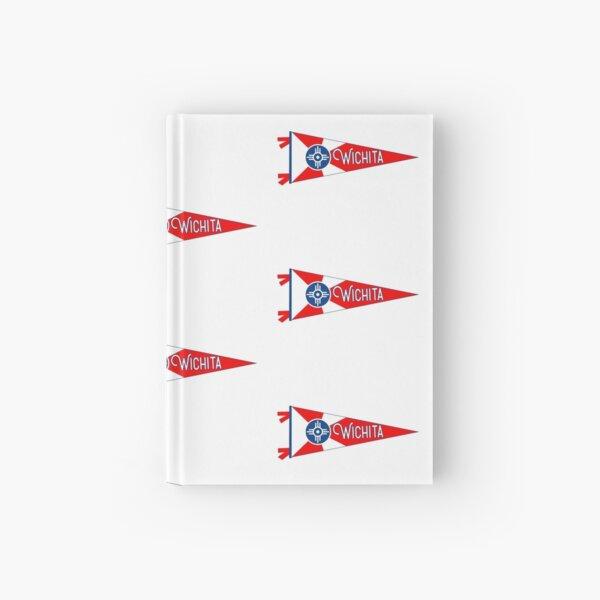 Wichita Flag Pennant Hardcover Journal
